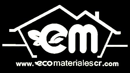Logo Ecomateriales CR pie de página de página