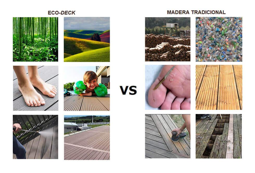 Eco Deck vs Madera