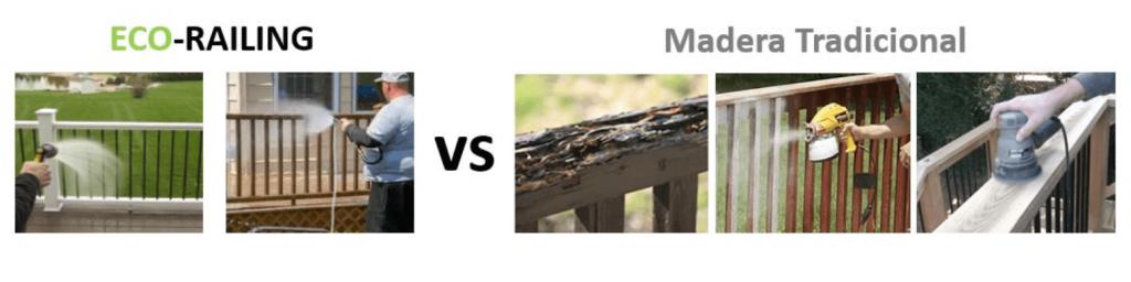 Eco Railing es de bajo mantenimiento