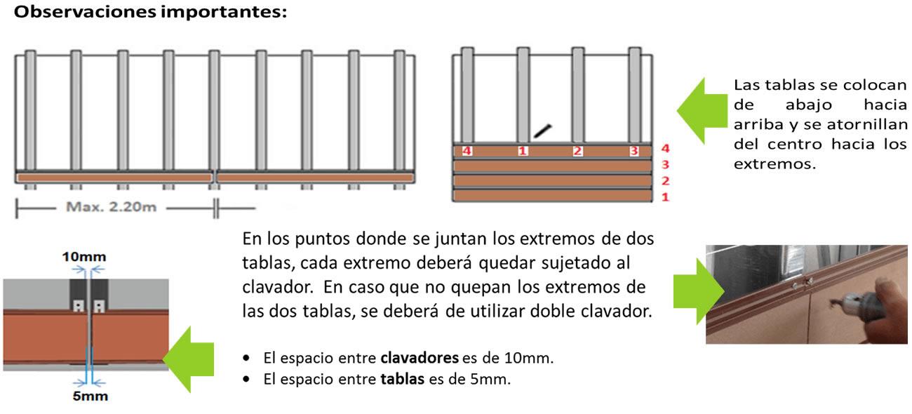 Colocación de tablas de eco-siding