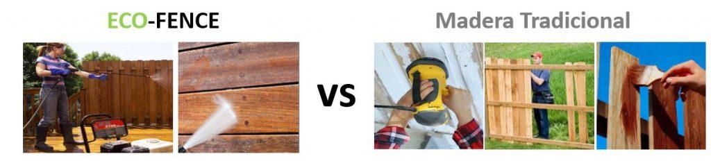 Eco Fence vs Cerca tradicional