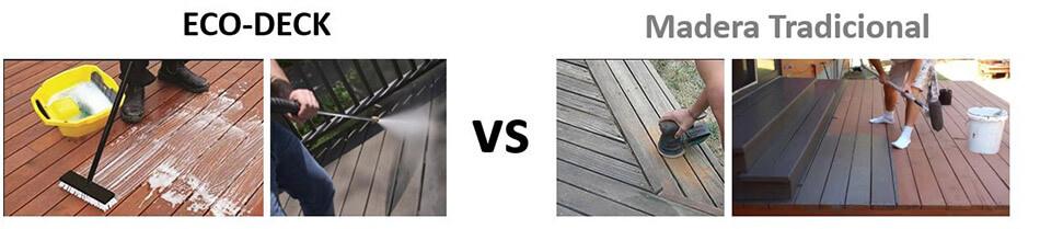 Madera vs Eco-Deck