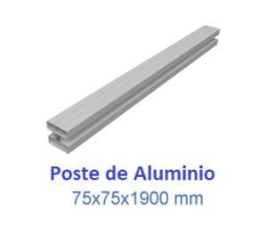 Poste de aluminio