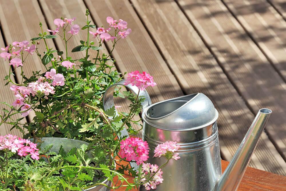 Deck para jardin