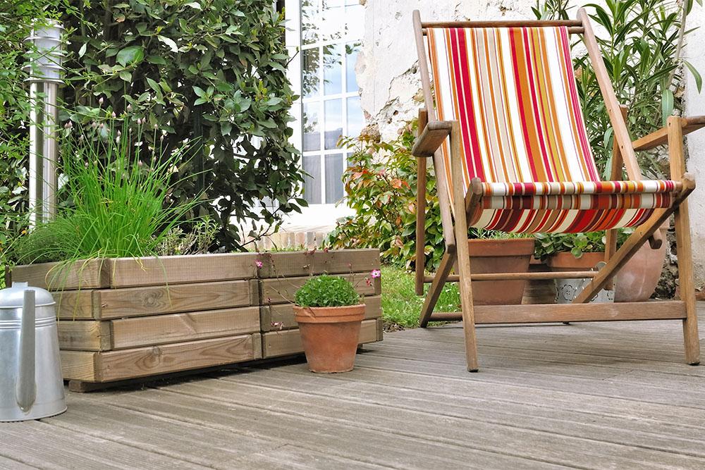 Decks para jardines