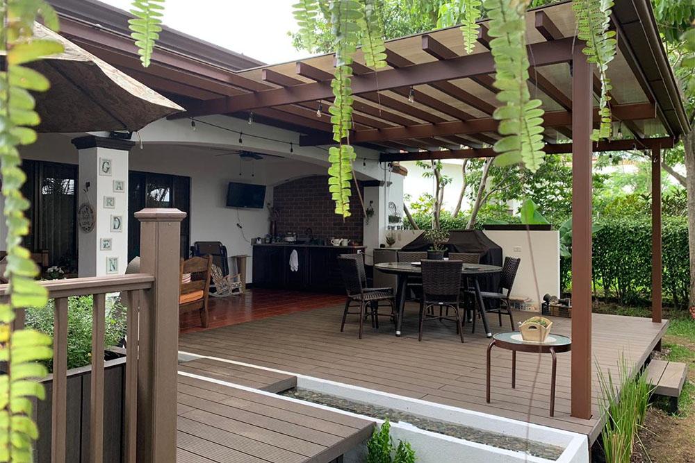 Deck terrazas